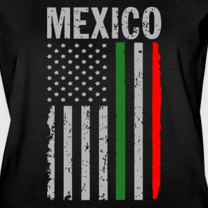 Big Mexican American Flag - Women's Vintage Sport T-Shirt