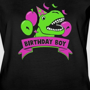 Gift for Birthday Boy Dinosaur Raptor T-Rex - Women's Vintage Sport T-Shirt