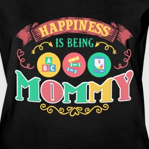Happiness Is Being A MOMMY 2 Mother Day Shirt - Women's Vintage Sport T-Shirt