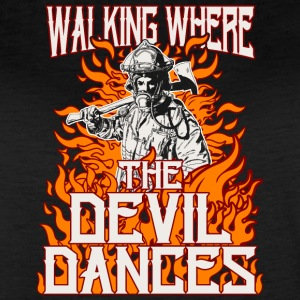 Walking Where The Devil Dances - Women's Vintage Sport T-Shirt