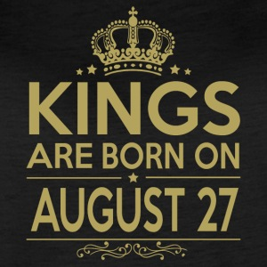 Kings are born on August 27 - Women's Vintage Sport T-Shirt