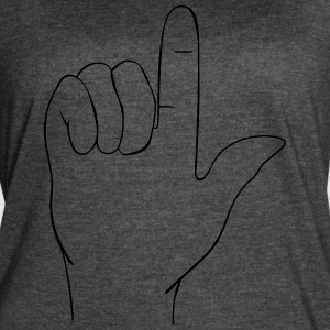 Hand sign - Women's Vintage Sport T-Shirt