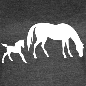 Horse with foal - Women's Vintage Sport T-Shirt