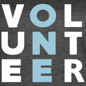 Volunteer ONE - Women's Vintage Sport T-Shirt