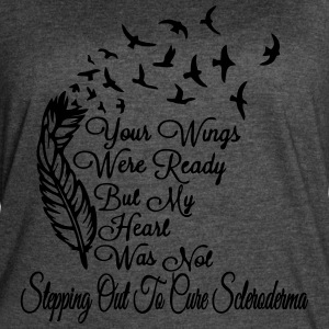 Stepping Out to Cure Scleroderma - Women's Vintage Sport T-Shirt