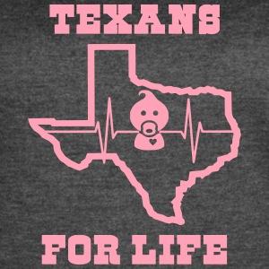 March for Life: Texans Pro Life Apparel - Women's Vintage Sport T-Shirt