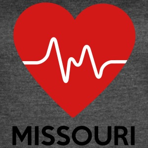 Heart Missouri - Women's Vintage Sport T-Shirt