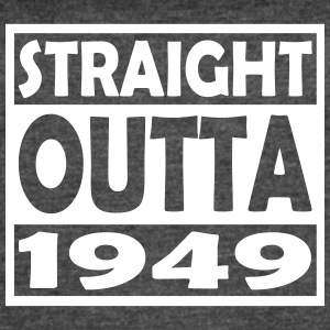 68th Birthday T Shirt Straight Outta 1949 - Women's Vintage Sport T-Shirt