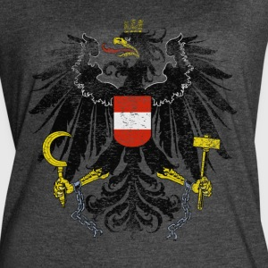 Austrian Coat of Arms Austria Symbol - Women's Vintage Sport T-Shirt