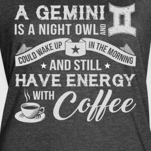 A Gemini Is A Night Owl T Shirt - Women's Vintage Sport T-Shirt