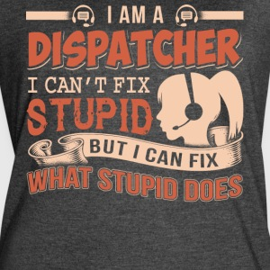 I Am A Dispatcher T Shirt - Women's Vintage Sport T-Shirt
