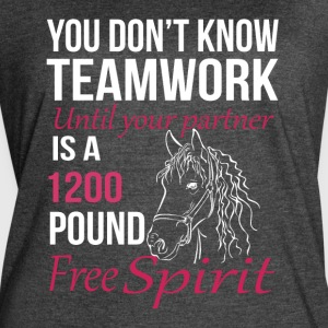 YOU DON'T KNOW TEAMWORK UNTIL YOUR PARTNER - Women's Vintage Sport T-Shirt