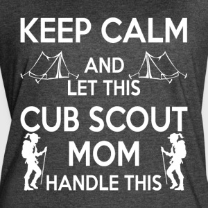 Let This Cub Scout Mom Handle This T Shirt - Women's Vintage Sport T-Shirt