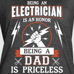 Being A Dad Is Priceless T Shirt - Women's Vintage Sport T-Shirt