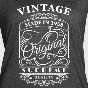 Vintage made in 1958 - Women's Vintage Sport T-Shirt