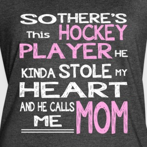 Hockey Player T Shirt - Women's Vintage Sport T-Shirt