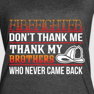 Thank My Brothers T Shirt - Women's Vintage Sport T-Shirt