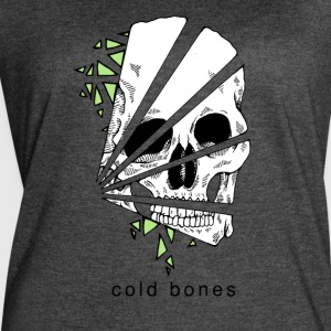 Geo Skull Color - Women's Vintage Sport T-Shirt