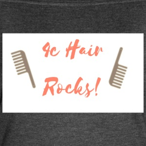 4C Hair Rocks! - Women's Vintage Sport T-Shirt