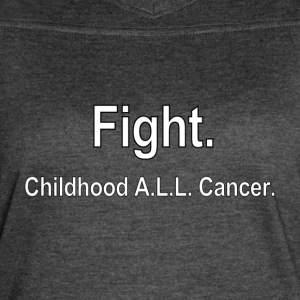 Fight Cancer - Women's Vintage Sport T-Shirt