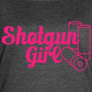 Shortgun Girl - Women's Vintage Sport T-Shirt