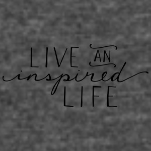 Live an inspired life - Women's Vintage Sport T-Shirt