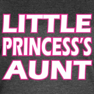 Little Princesss Aunt - Women's Vintage Sport T-Shirt