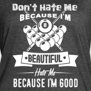 Play Pool Billiards Don't Hate Me Shirt - Women's Vintage Sport T-Shirt