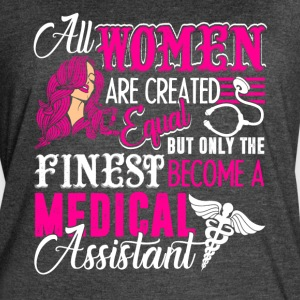 Women Medical Assistant Tee Shirt - Women's Vintage Sport T-Shirt