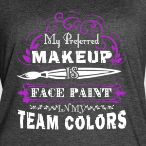 FACE PAINT SHIRT - Women's Vintage Sport T-Shirt