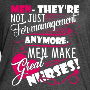 MALES NURSES ARE GREAT SHIRT - Women's Vintage Sport T-Shirt