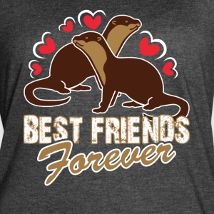 BEST FRIENDS FOREVER SHIRT - Women's Vintage Sport T-Shirt