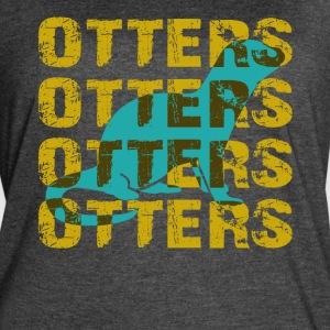 OTTERS OTTERS OTTERS SHIRT - Women's Vintage Sport T-Shirt