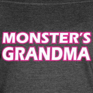 Monsters Grandma - Women's Vintage Sport T-Shirt