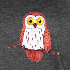 Owl on a branch - Women's Vintage Sport T-Shirt