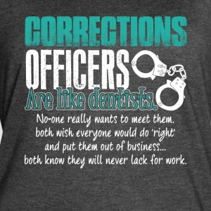 Corrections Officers Shirt - Women's Vintage Sport T-Shirt