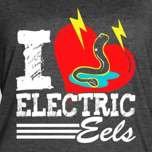 I LOVE ELECTRIC EELS SHIRT - Women's Vintage Sport T-Shirt