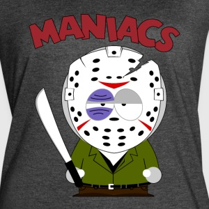 South Park Maniacs Voorhees - Women's Vintage Sport T-Shirt
