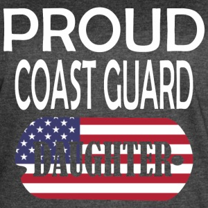Proud Coast Guard Daughter - Women's Vintage Sport T-Shirt