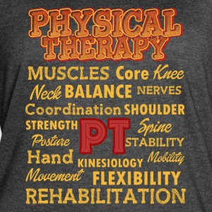 PHYSICAL THERAPY FUN SHIRT - Women's Vintage Sport T-Shirt