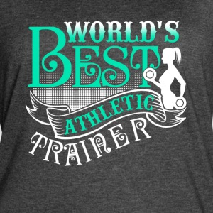 ATHLETIC TRAINER TEE SHIRT - Women's Vintage Sport T-Shirt