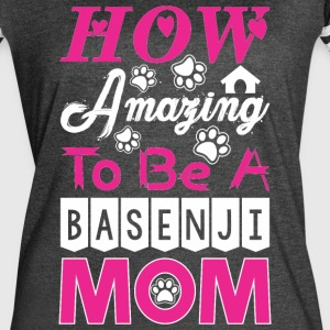 How Amazing To Be A Basenji Mom - Women's Vintage Sport T-Shirt