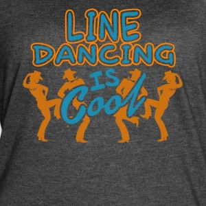 LINE DANCING IS COOL SHIRT - Women's Vintage Sport T-Shirt