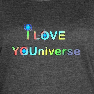 I LOVE YOU UNIVERSE ii - Women's Vintage Sport T-Shirt
