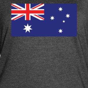 Flag of Australia Cool Australian Flag - Women's Vintage Sport T-Shirt