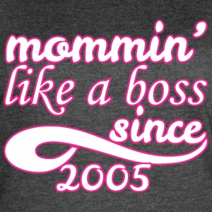 Mommin Since 2005 Mom Happy Mothers Day - Women's Vintage Sport T-Shirt