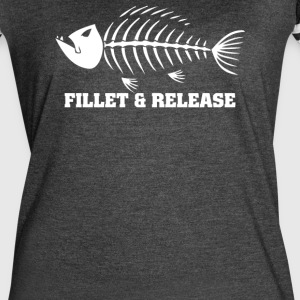 Fillet And Release Fishing - Women's Vintage Sport T-Shirt