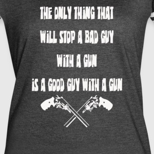 Good guy with a gun pro - Women's Vintage Sport T-Shirt