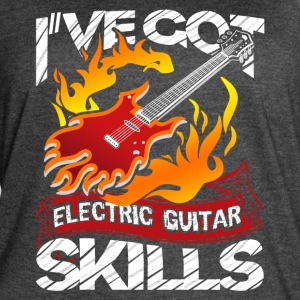 ELECTRIC GUITAR DESIGNS SHIRT - Women's Vintage Sport T-Shirt