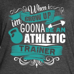 KIDS FUTURE ATHLETIC TRAINER SHIRT - Women's Vintage Sport T-Shirt